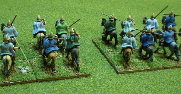 Painted in 2011 Xyston Miniatures Litko Bases