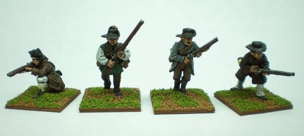 Painted 2014 Perry Miniatures Litko Bases