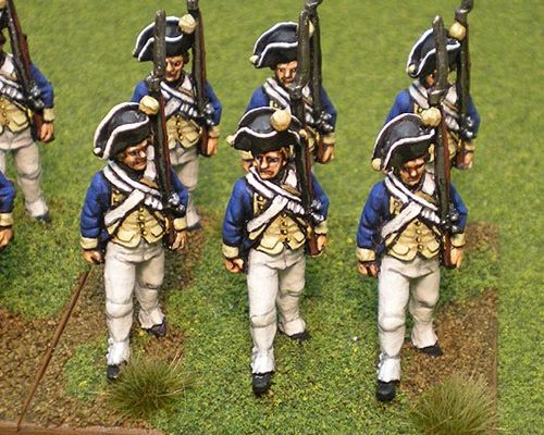 Painted 2011 Perry Miniatures Litko Bases