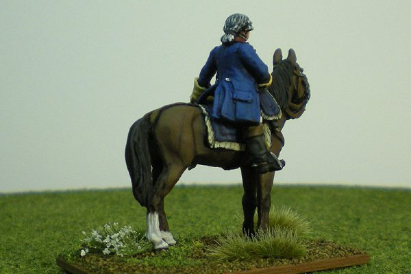 Painted 2011 Perry Figure Litko Base